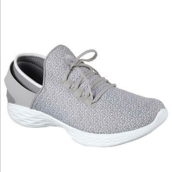 Skechers Shoes   All Grey You By Walk